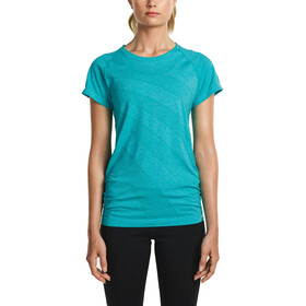 saucony Dash Seamless Short Sleeve Women Barbados Heather
